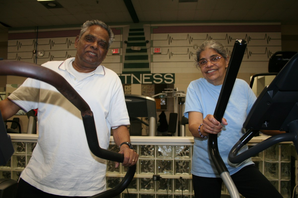Senior Center Exercise Room